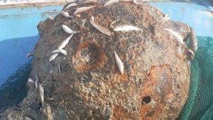 Rumeli Feneri açıklarında balıkçıların ağına mayın takıldı