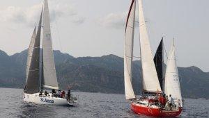Uluslararası Yelkenli yat yarışında ikinci gün tamamlandı