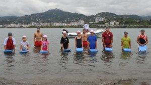 'Yüzme Bilmeyen Kalmasın Projesi' ile sadece bu yıl ülke genelinde yüz binlerce kişi yüzme öğrendi