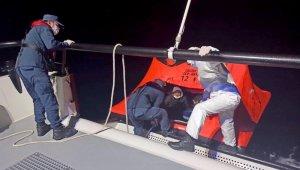 6 düzensiz göçmen kurtarıldı