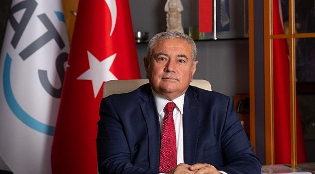 ATSO Başkanı Davut Çetin'den Ekim ayı enflasyonu değerlendirmesi