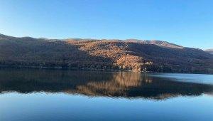 Doğa harikası göl tabiat parkına dönüştürülüyor