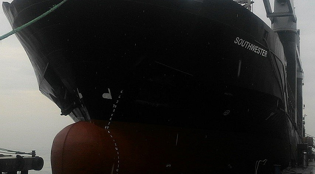 Gant Denizcilik'e ait geminin makine dairesinde patlama!