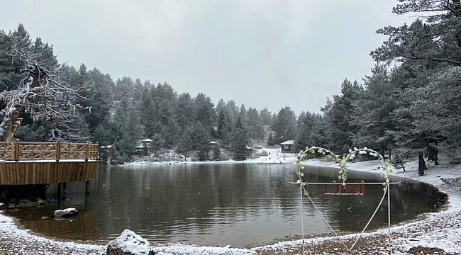 Gümüşhane'nin beyaz cenneti: Limni Gölü