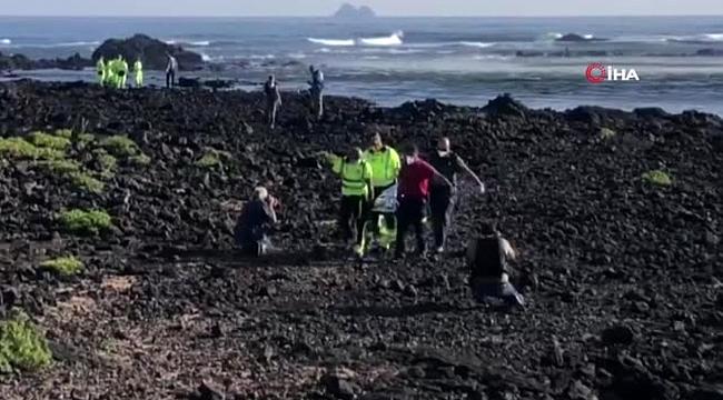 Kanarya Adaları açıklarında göçmen teknesi battı: 7 ölü