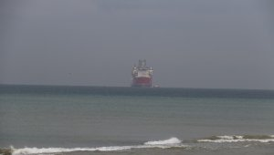 Kanuni Sondaj Gemisi Zonguldak'ta