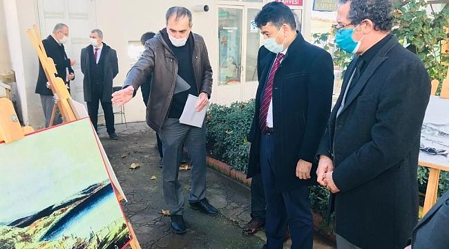 Sinop'ta Deniz Şehitleri için resim sergisi açıldı