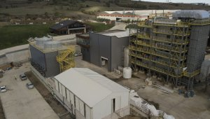 Sinop'ta kurulan biyokütle santralinde orman atıklarından elektrik üretilecek