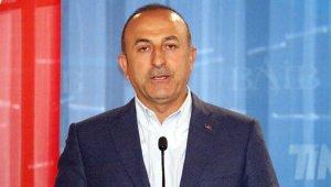 """Bakan Çavuşoğlu: """"Doğu Akdeniz'de diyaloğu savunduk"""""""