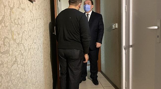 Eyüpsultan'da kimsesiz vatandaşlar otellerde misafir ediliyor