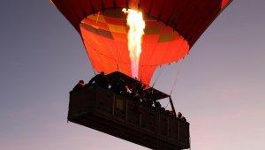 Kapadokya'yı 115 bin turist gökyüzünden izledi