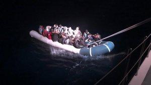 34 düzensiz göçmen sahil güvenlik tarafından kurtarıldı