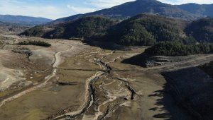 Bursa'nın su ihtiyacını karşılayan barajda su oranı yüzde 5'e düştü!