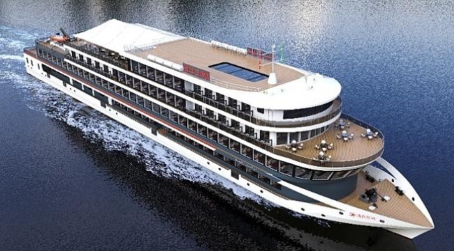 Çin'de inşa edilen tam elektrikli gemi dünyanın en güçlüsü olacak!
