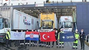 DFDS Akdeniz'den Hırvatistan'daki depremzedelere destek!