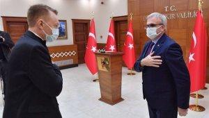 Diyarbakır'a gelen Avustralya Büyükelçisinden Türkiye'ye övgü