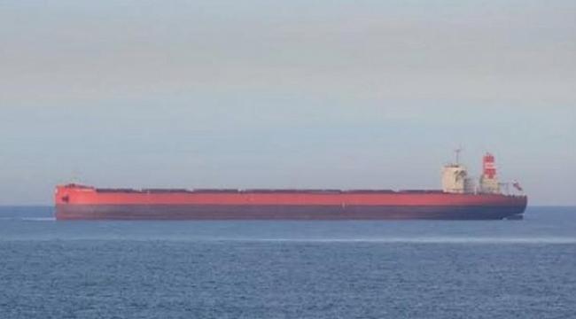 Dökme yük gemisinin kaptanı Hint Okyanusu'nda kayboldu!