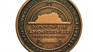 Gastronomi şehri Afyonkarahisar'a özel hatıra paraları basıldı
