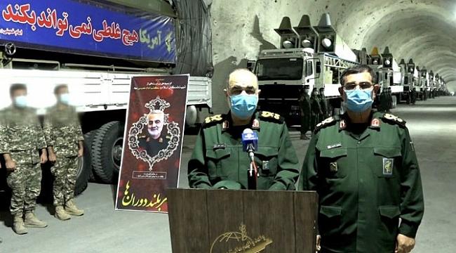 İran, Basra Körfezi'nde yeni yeraltı füze üssü açtı