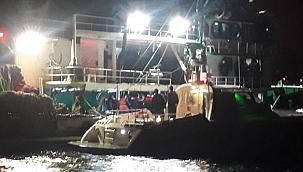 İstanbul Boğazı'nda balıkçı tekneleri denetleniyor!