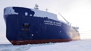 LNG tankeri tarihi Arktik seferinde: Christophe de Margerie'den yeni rekor!