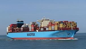 MAERSK gemisi Kuzey Pasifik'te yüzlerce konteyner kaybetti!