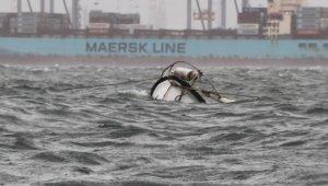 Marmara Körfezi'nde Lodos balıkçı teknesini batırdı