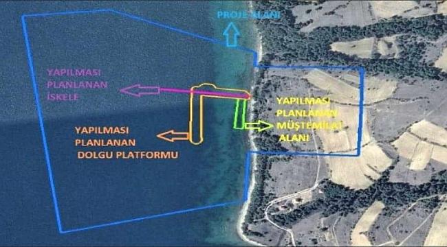 Saros halkı yine haklı çıktı: Liman projesi imar planlarına aykırı!
