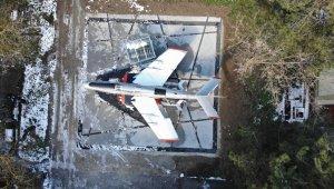 Savaş uçağını restore ederek ilk günkü ihtişamına kavuşturdular