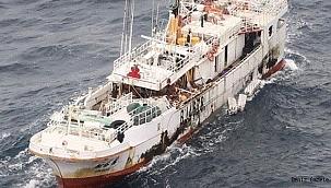 Terkedilmiş balıkçı gemisi Pasifik'te sürükleniyor: 10 kayıp!