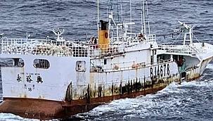 Terkedilmiş balıkçı gemisinin kayıp mürettebatı bulunamadı!