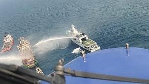 Açık deniz tedarik gemisinde yangın: 3 denizci hayatını kaybetti!