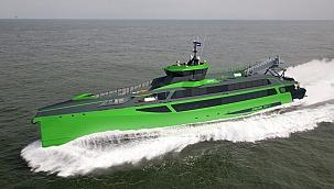 DAMEN, mürettebat gemisi FCS 7011'i suya indirdi!