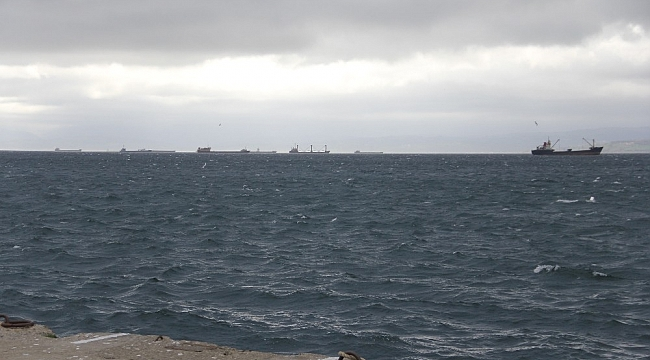 Fırtınadan kaçan gemiler Sinop'a sığındı