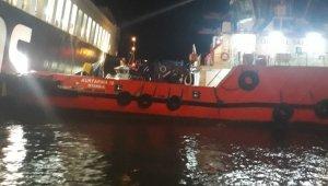 Gallıpolı Seaways isimli gemideki yangın tamamen söndürüldü
