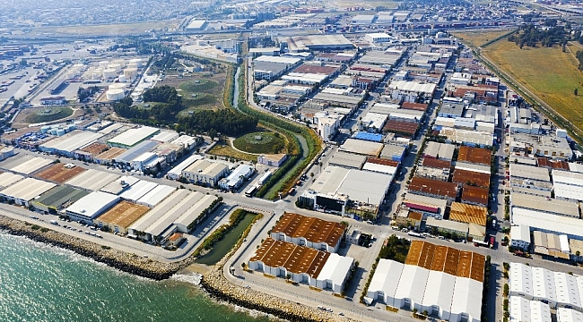 Mersin Serbest Bölgesinde 2020'de 1,7 milyon ton mal elleçlendi