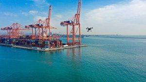 Mersin'de deniz kirliliği drone ile denetleniyor