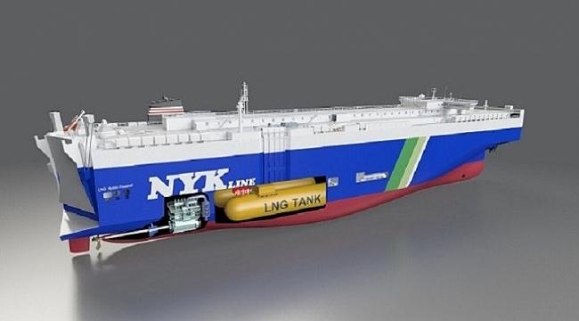 NYK, Çin'den dört LNG yakıtlı Ro-Ro gemisi sipariş etti!