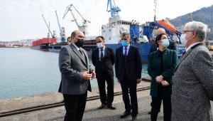 """Trabzon Liman İşletmeciliği Müdürü Ermiş: """"Nahcivan koridorunun hizmete girmesi bu bölgenin talihini değiştirecektir"""""""