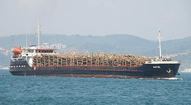 Türk yük gemisi Yunan adasında karaya oturdu!