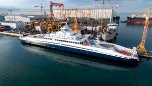 Türkiye'de üretilen dünyanın en büyük elektrikli feribotu Norveç'te!
