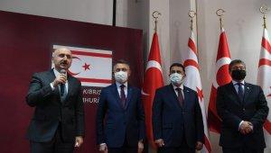 """Ulaştırma Bakanı Karaismailoğlu: """"KKTC'nin altyapısını büyütüp, geliştireceğiz"""""""