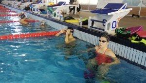 Yüzme Milli Takımı, Erzurum'da kampa girdi