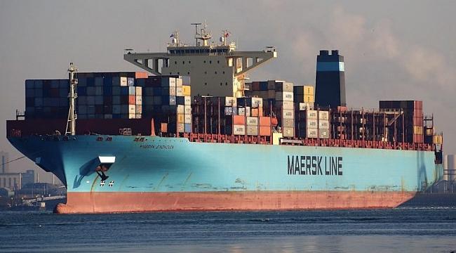 260 konteynerini denize düşüren Maersk Eindhoven Yokohama'dan ayrılıyor!