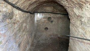 Anemas Zindanları'ndaki Bizans kalıntıları böyle görüntülendi