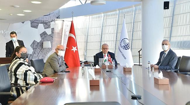 """ASO Başkanı Özdebir: """"Macaristan'la ülkemiz arasındaki ticaret hacim hedefi 6 milyar dolar"""""""