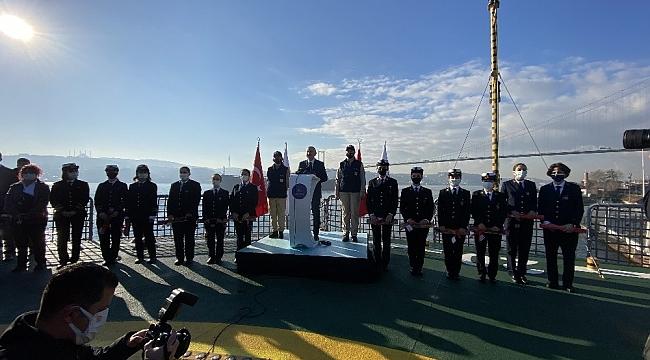 """Bakan Adil Karaismailoğlu:""""12 denizcilik şirketimizdeki stajyer kontenjan sayısı 306 olarak belirlenmiştir"""""""