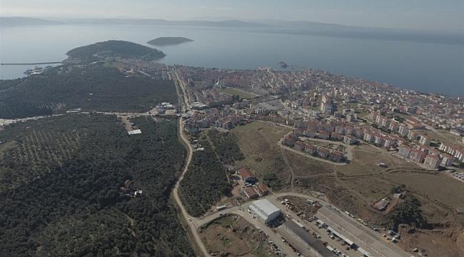 Balıkesir Büyükşehir'den Erdek'e 66 milyon liralık yatırım