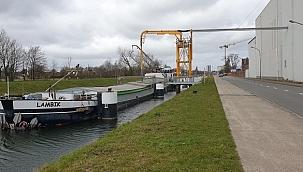 Belçika'da CO2 emisyonunu azaltmak için yarım milyon Euro mavna yatırımı!