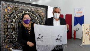 Bereketli Eller Rüzgarı Kadın Kooperatifi el sanatları sergisi